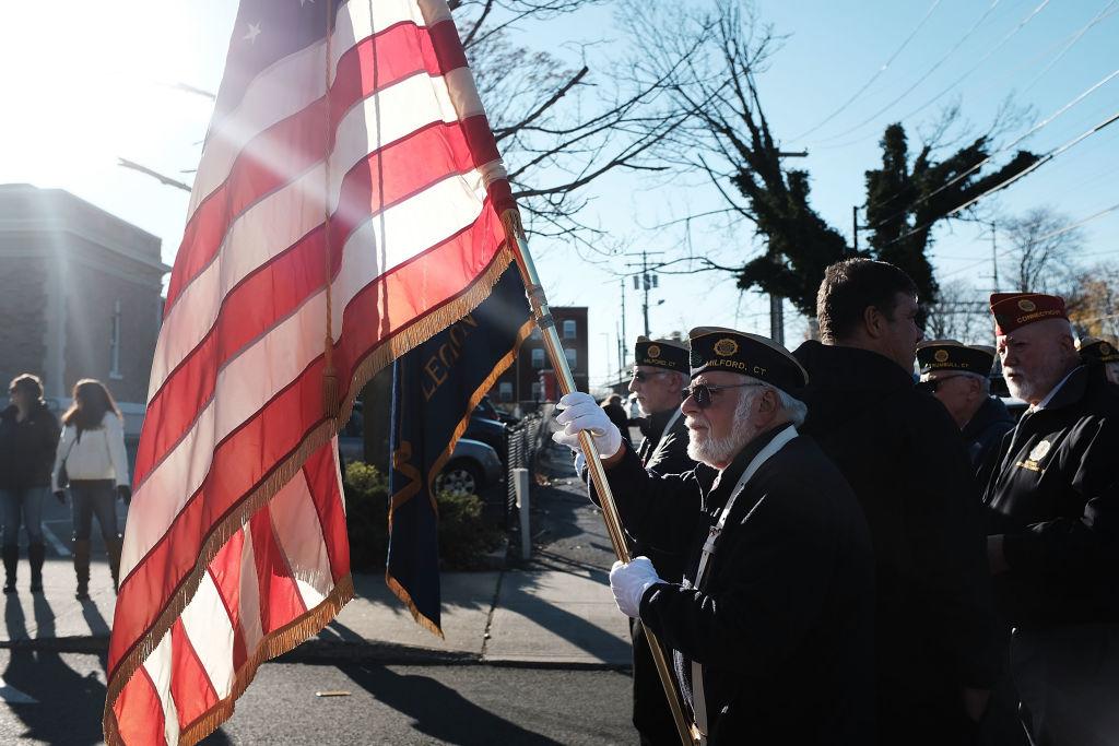 memorial day veterans day getty