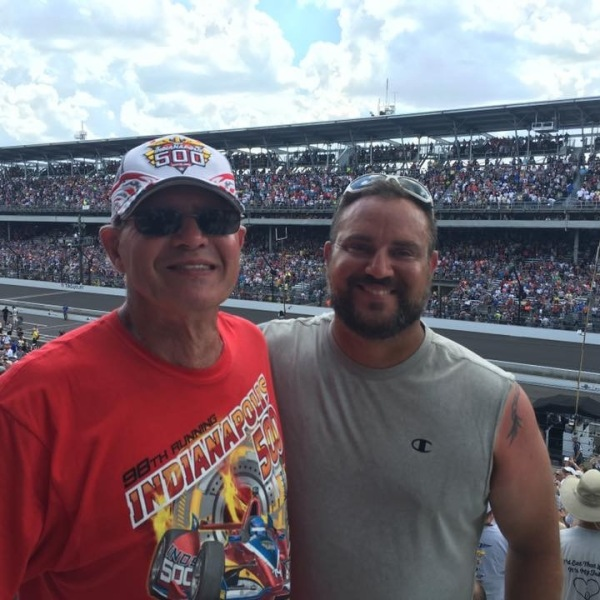 Indy 500 fans bring friend's ashes to IMS ahead of race