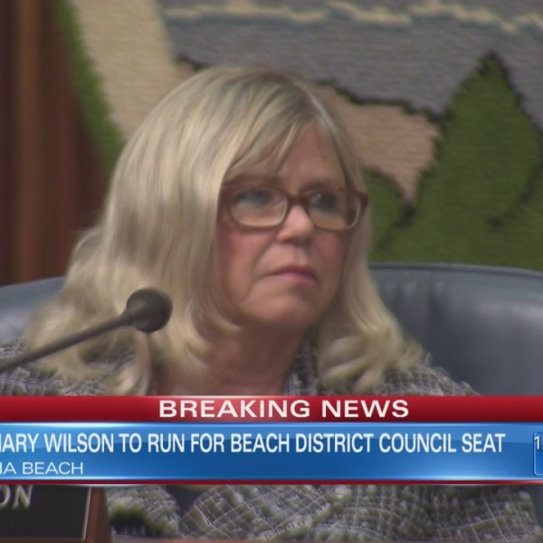 Wilson to run for Beach District seat
