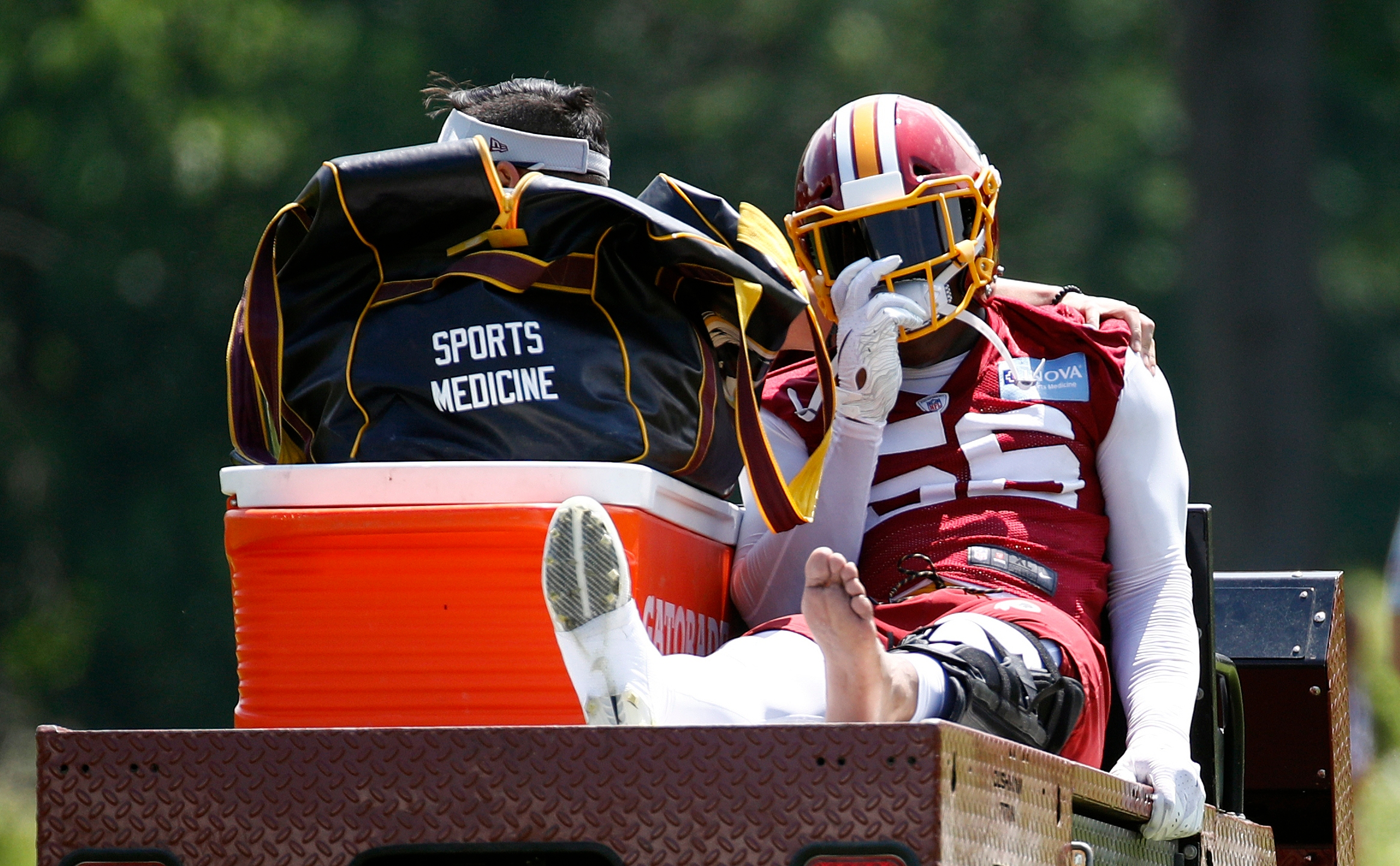 Redskins Foster Injured Football_1558386789513