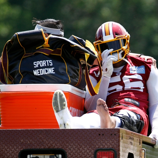 Redskins Foster Injured Football_1558386789513