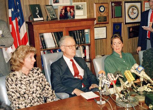 Linda Fairstein, Robert Morgenthau, Ellen Levin