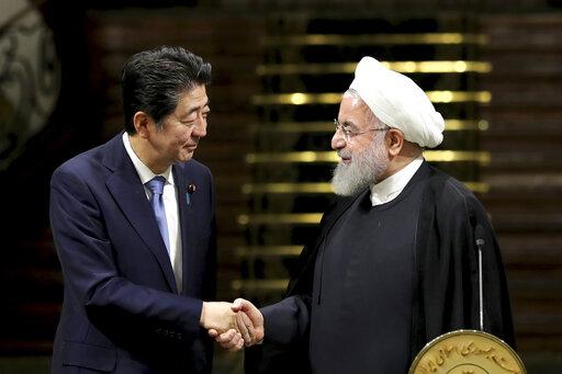 Hassan Rouhani, Shinzo Abe