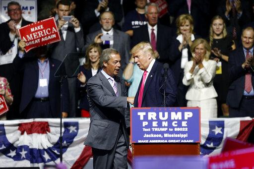 Donald Trump, Nigel Farage