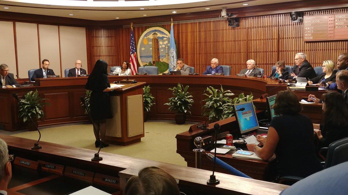 Delegate Kelly Fowler speaks in front of Virginia Beach City Council jpg?w=1280.