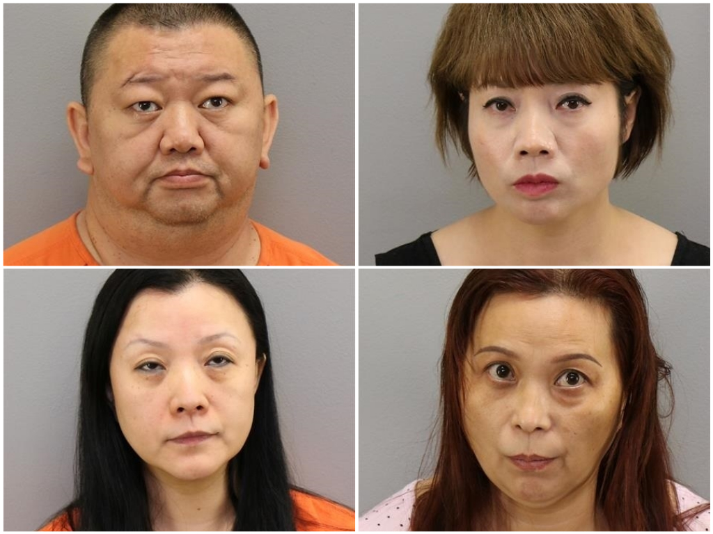 4 charged in human trafficking investigation in Va. Beach