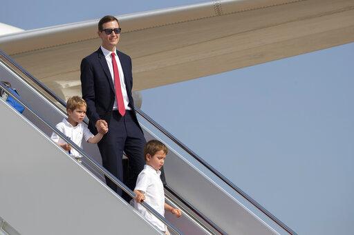 Jared Kushner, Theodore Kushner, Joseph Kushner, Donald Trump