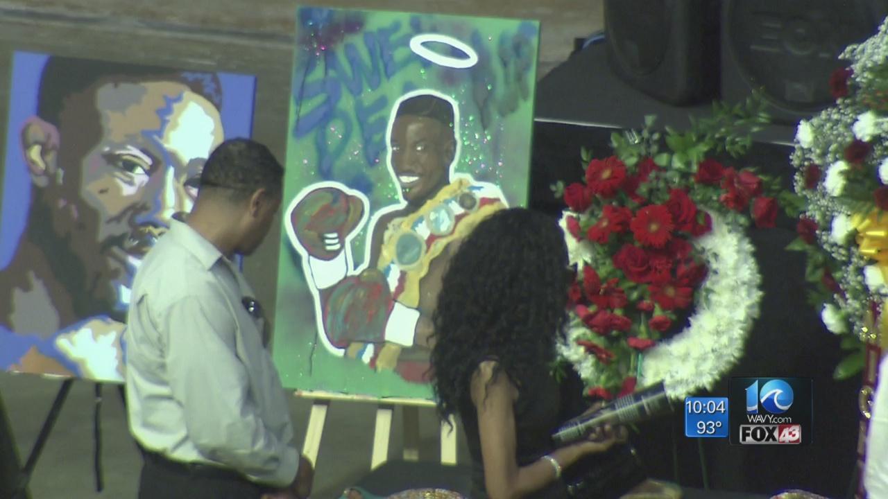 Hampton Roads honors Pernell 'Sweet Pea' Whitaker at Scope