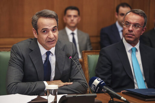 Kyriakos Mitsotakis, Christos Staikouras