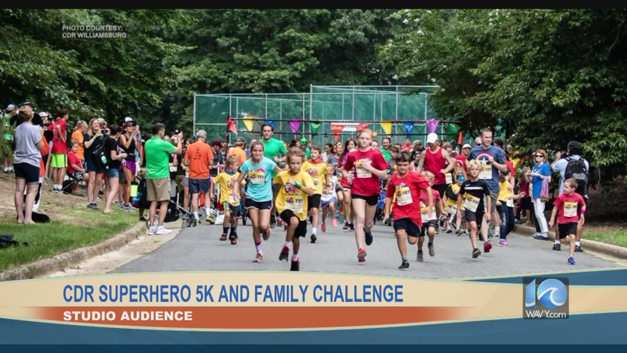 Audience Cdr Superhero 5k And Family Challenge Wavy Com