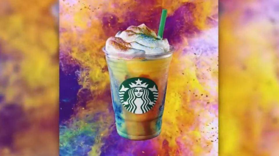 Yum? Starbucks introduces new tie-dye frappuccino | WAVY.com