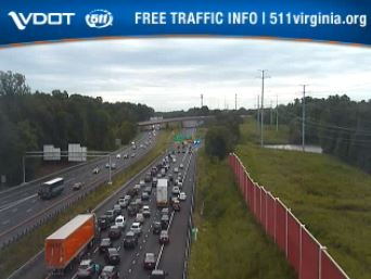 All eastbound lanes at Exit 243 near Busch Gardens on I-64 closed due to accident