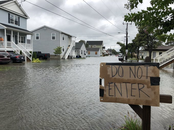 Flooding In Norfolk S E Ocean View