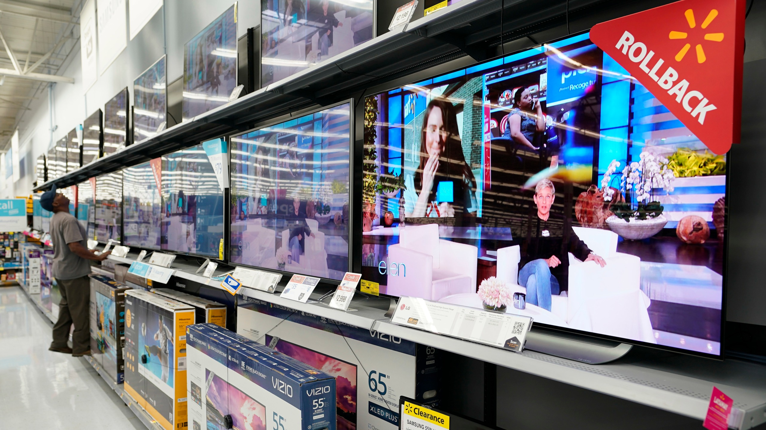 Walmart Televsion Shoppers