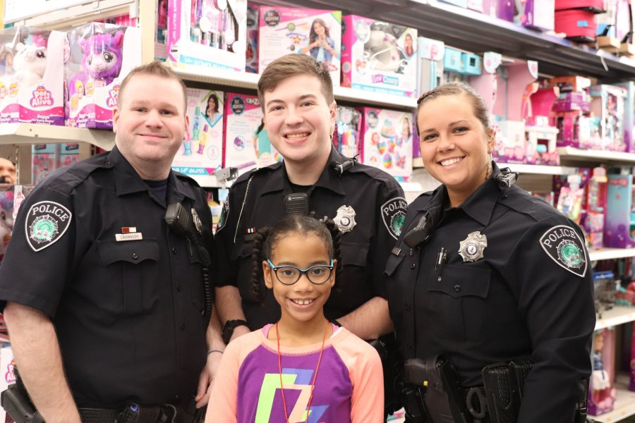 Officials in Newport News host annual 'Cops and Kids' event