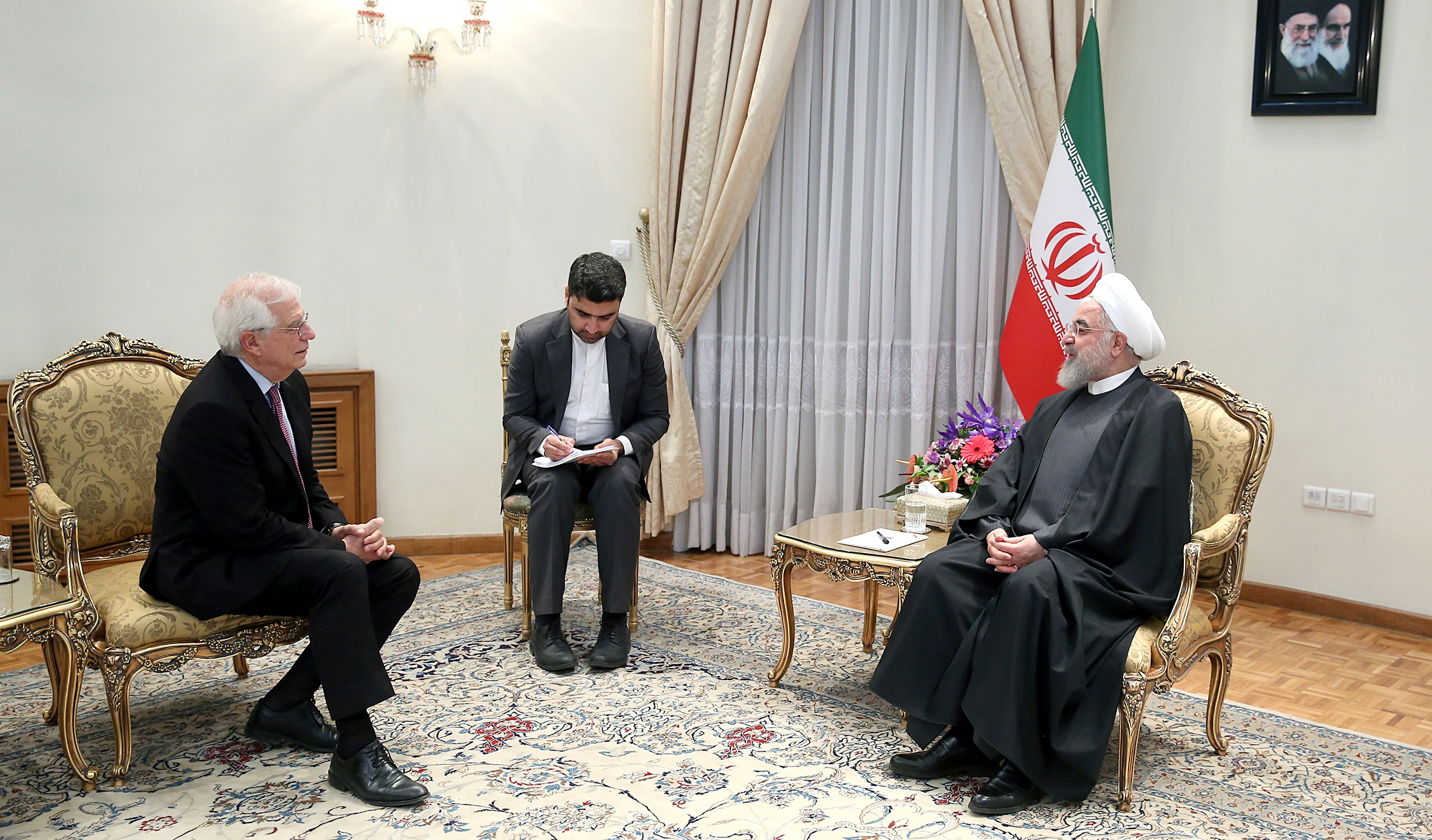 Hassan Rouhani, Josep Borrell