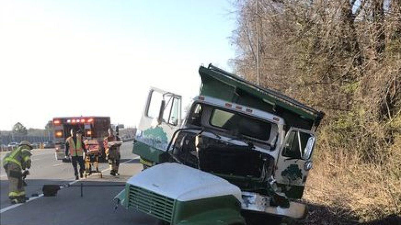 4 Vehicles Involved In Dump Truck Crash