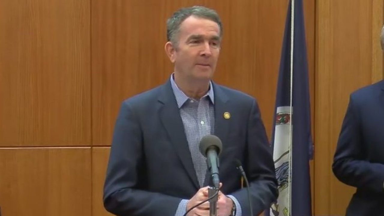 Northam issues 'stay at home' order for Virginia