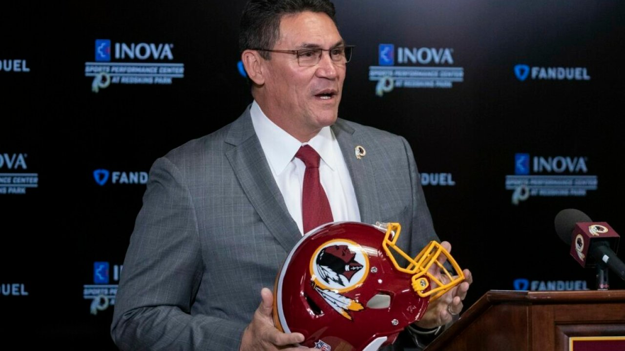 George Floyd Chest Tattoo: Redskins Coach Ron Rivera Talks About Potential Draft