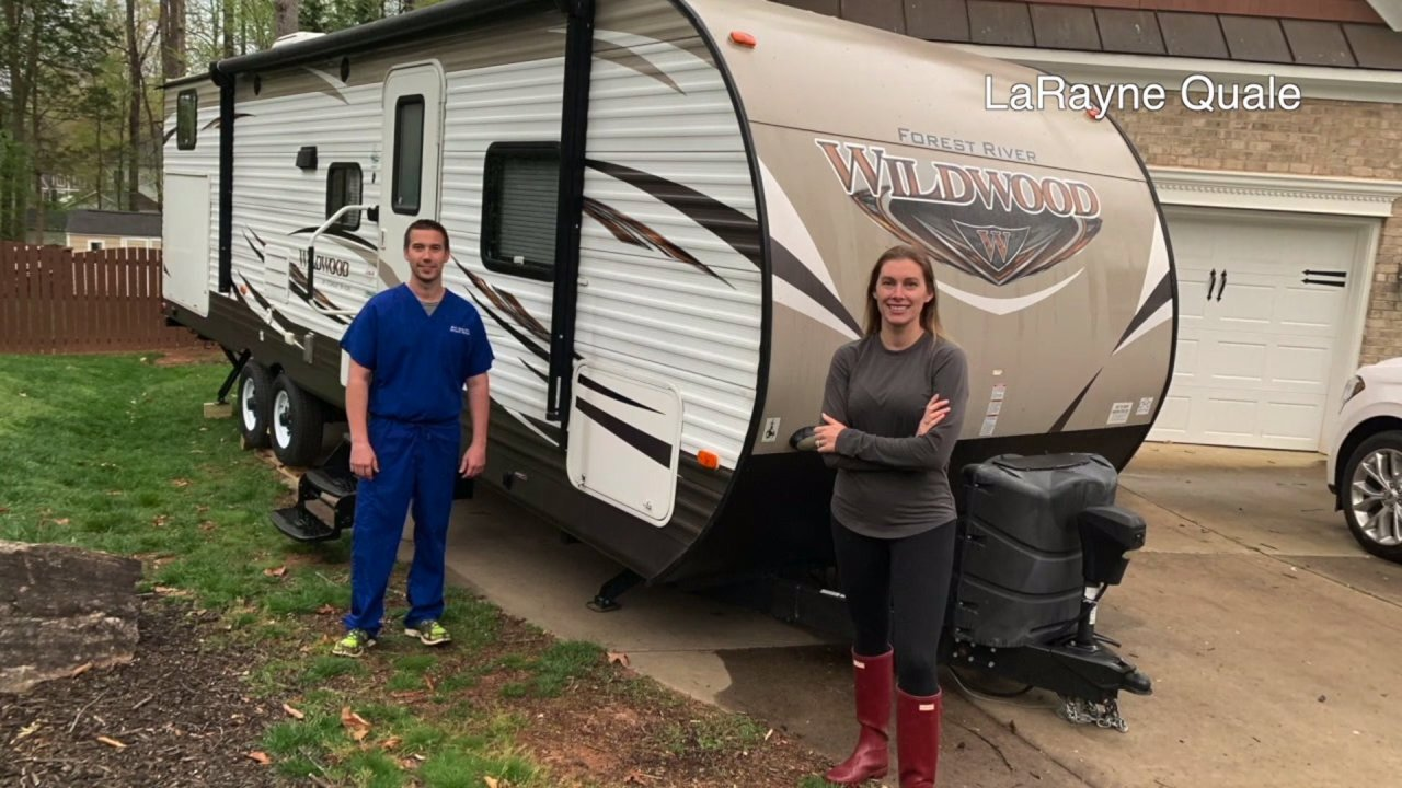 Emergency Room Doctor Sleeping In Rv To Keep His Family