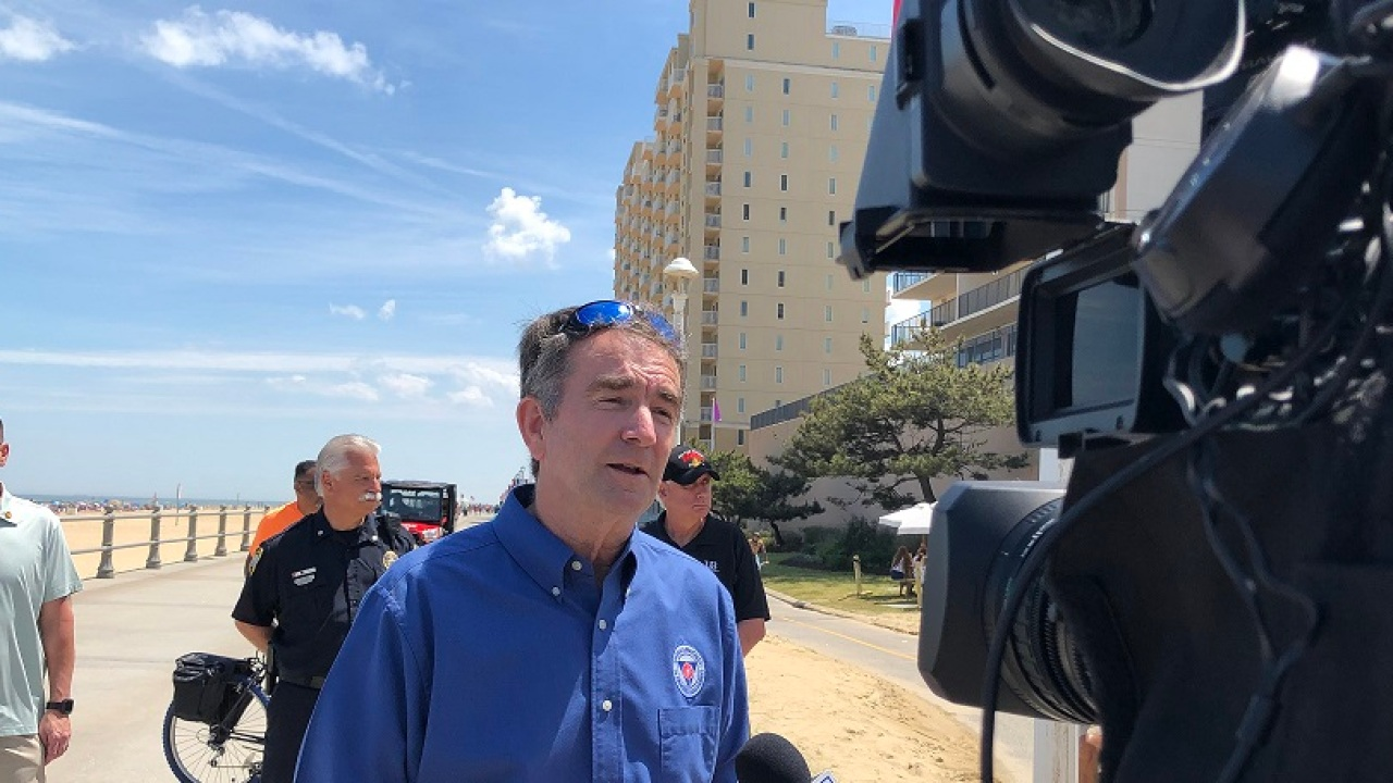 'We are all learning to operate in new normal:' Gov. Northam responds to viral online photos