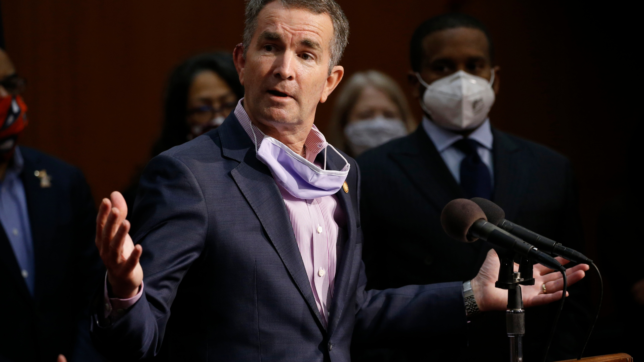 Northam 2020 Halloween Costume Former Va Governor Northam seeks another ban on evictions in Virginia   WAVY.com