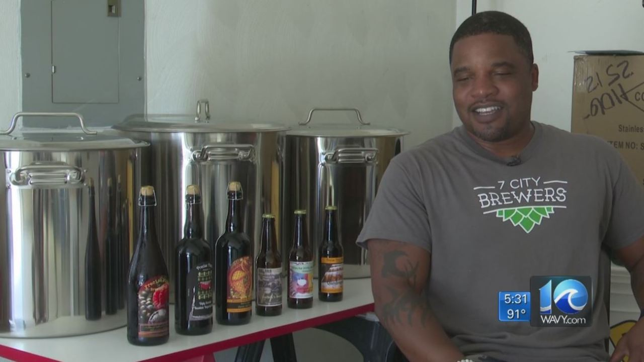 Local man says he hopes to open the first black-owned brewery in Chesapeake