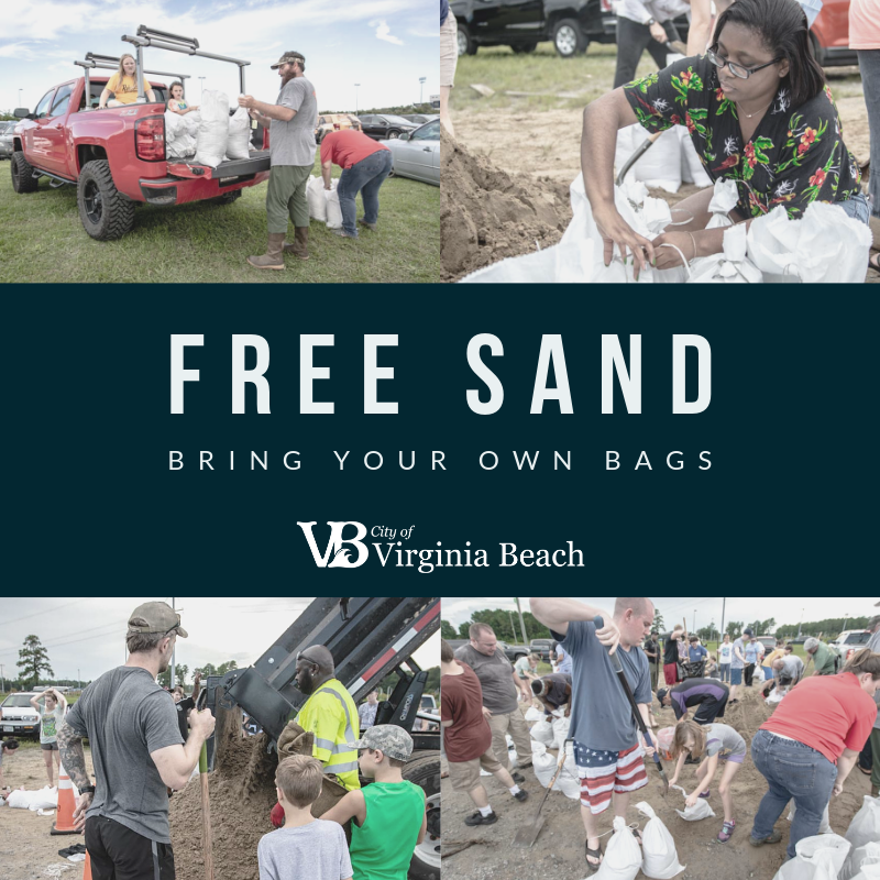 Virginia Beach To Supply Residents With Sand For Possible Isaias Related Flooding Wavy Com