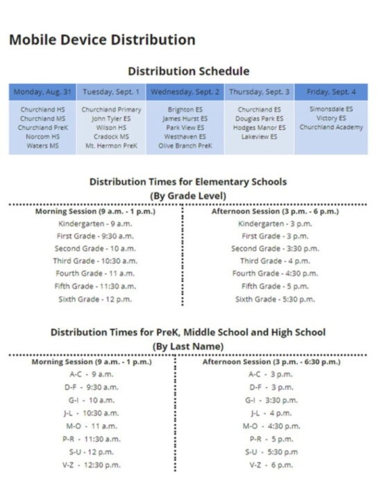 Portsmouth Schools Begin Mobile Device And Student Id Distribution Wavy Com