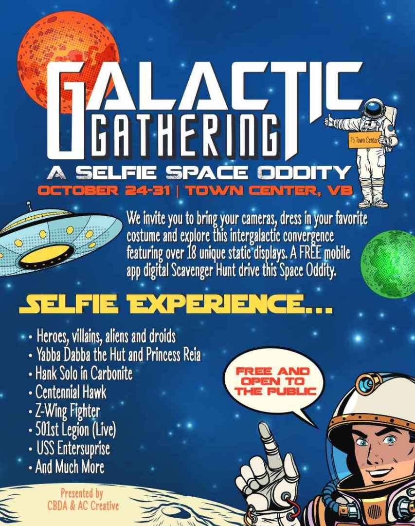 'Galactic Gathering' coming to Virginia Beach Town Center