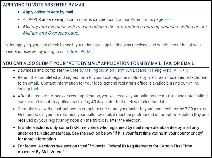 Virginia Voters Are Still Requesting Mail In Ballots Despite Deadline Wavy Com