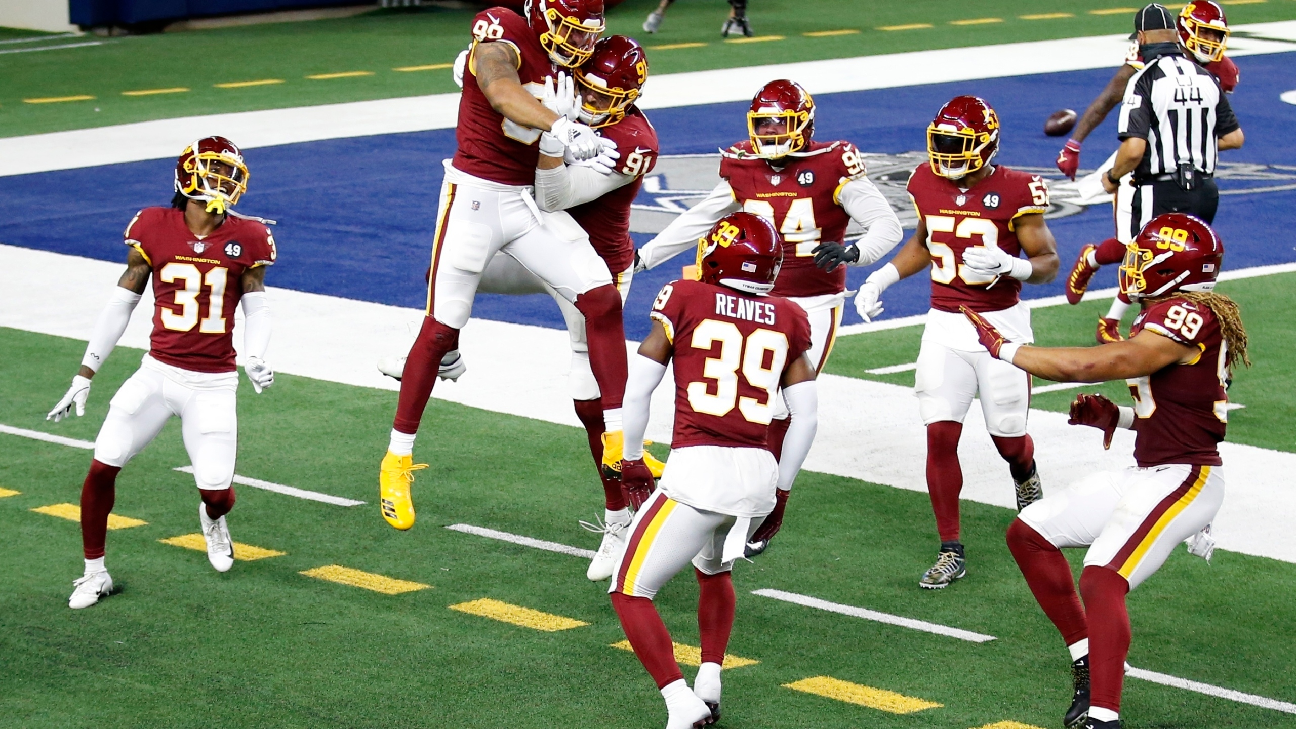 Smith Washington In 1st After Thanksgiving Win Over Cowboys Wavy Com