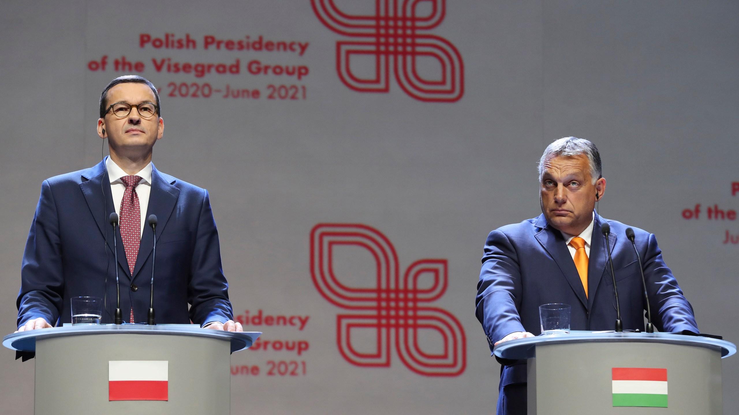 Mateusz Morawiecki, Viktor Orban