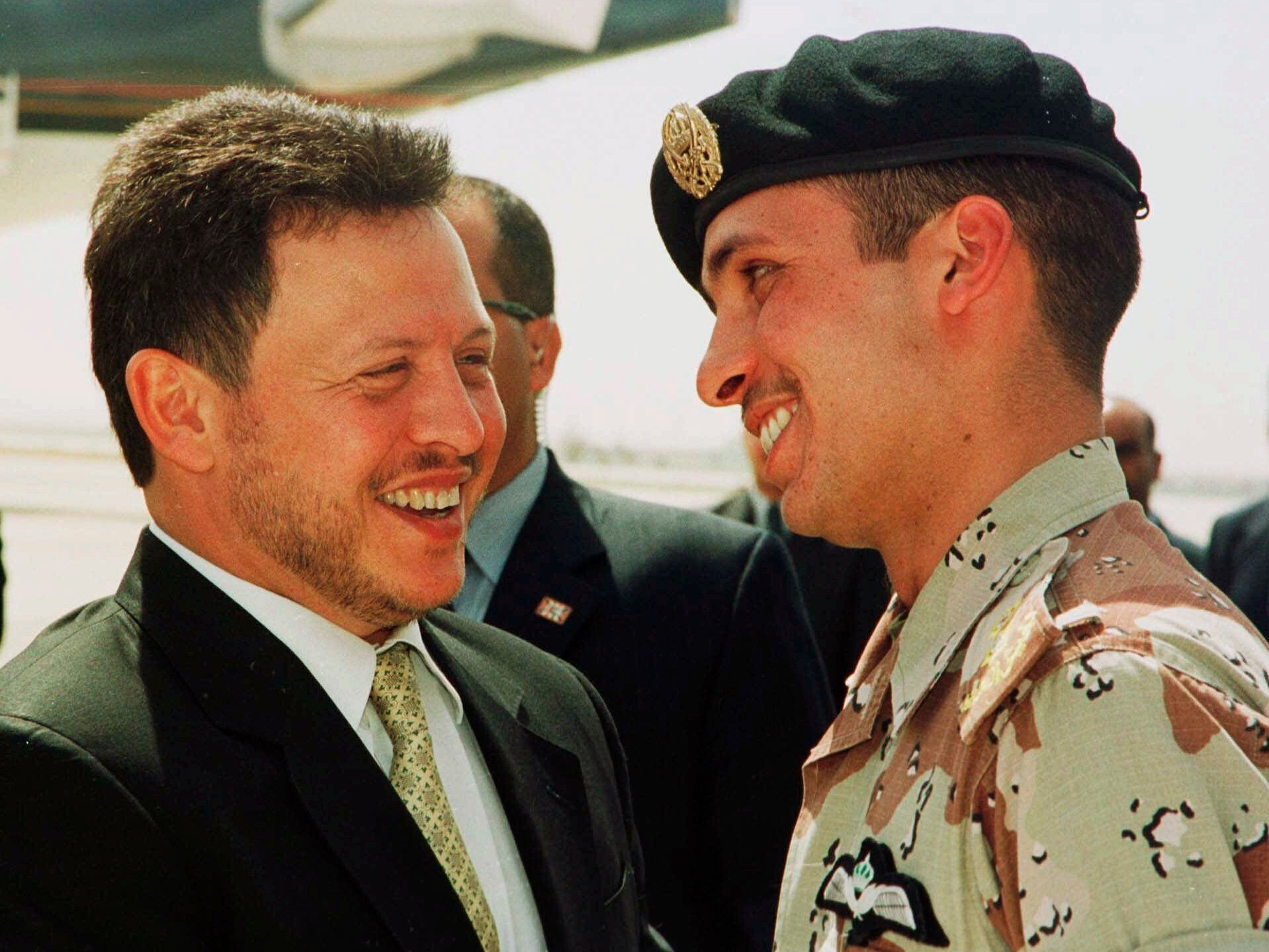 KING ABDULLAH II CROWN PRINCE HAMZEH