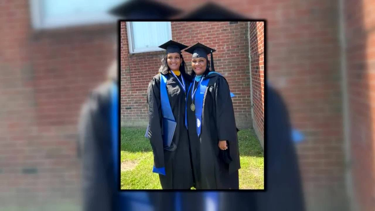 Mother and daughter graduate from ECSU together