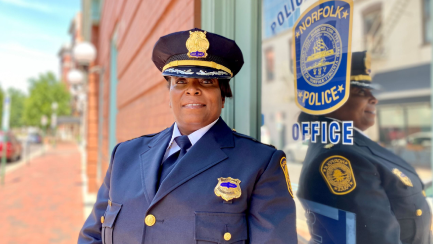 Michele Naughton-Epps Appointed as New Assistant Chief of Police at Norfolk Police Department in Virginia