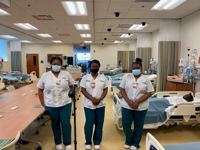 Nursing school students a NSU