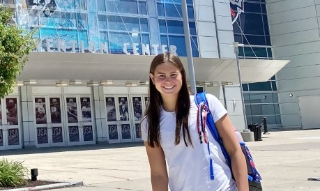 17-year-old VB Tide swimmer races alongside greats such as Katie Ledecky in semifinals for Olympic trials - WAVY.com