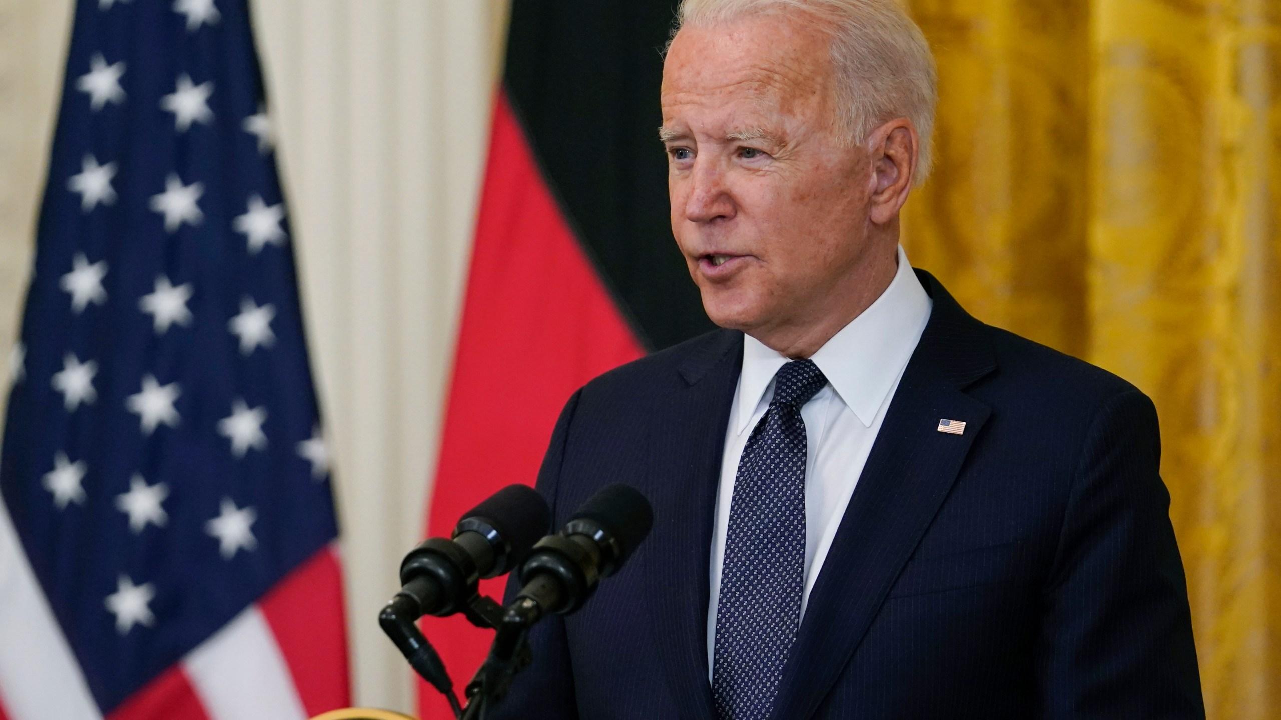 Joe Biden, Angela Merkel