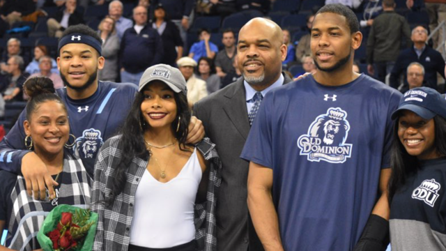 Stith family at ODU GAME